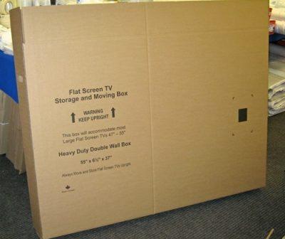 LCD TV 55 X 37 X 6.5