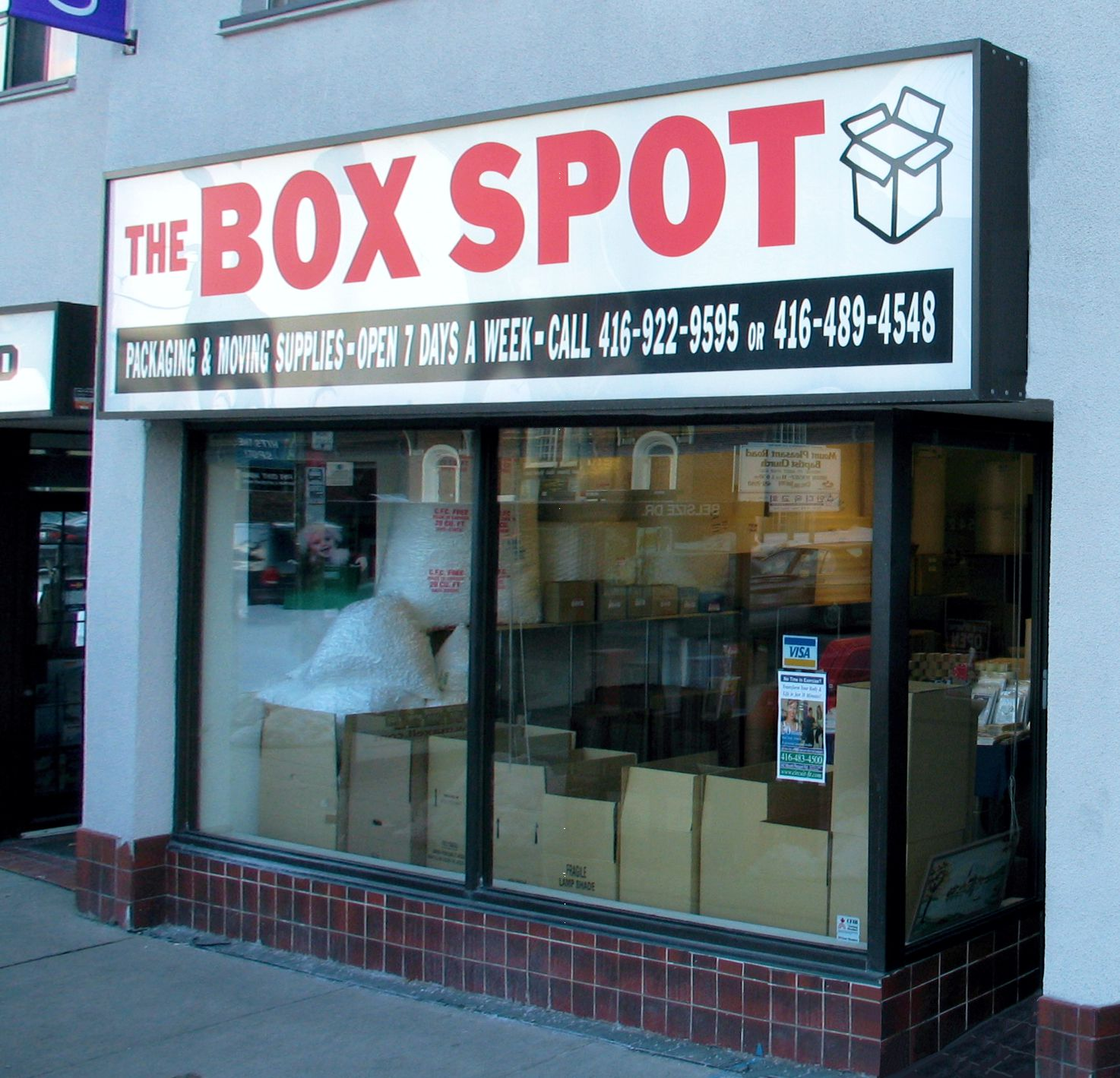The Box Spot at 542 Mt. Pleasant Road